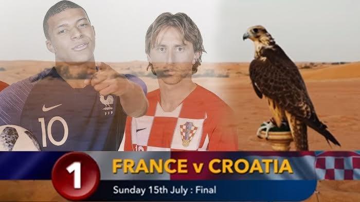 Prediksi Juara Piala Dunia 2018 oleh Burung Elang Peramal Farah Falcon dan Si Unta Shaheen