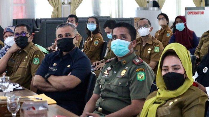 Pemko Medan Ikuti Rakor Percepatan Pembaharuan dan Restrukturisasi di Kabupaten/Kota Level 4