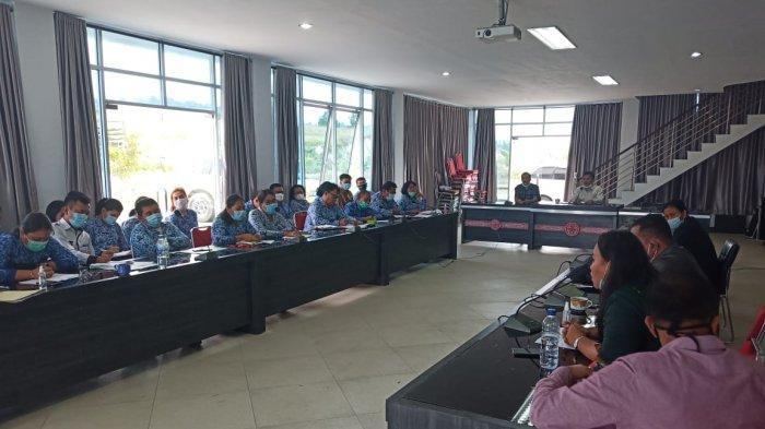 Komisi I DPRD Kabupaten Samosir Gelar Rapat Kerja, Berharap Tingkatkan Pelayanan Kesehatan