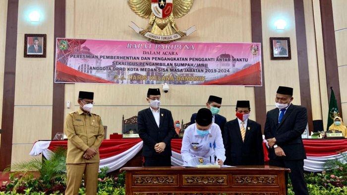 Sah, DPRD Kota Medan Setujui Raperda 2021 Kota Medan