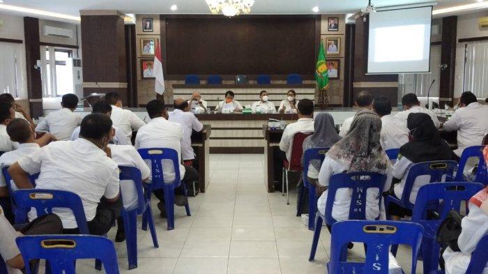 Satgas Covid-19 Kabupaten Langkat Gelar Rapat, Bahas Percepatan Vaksinasi Covid-19