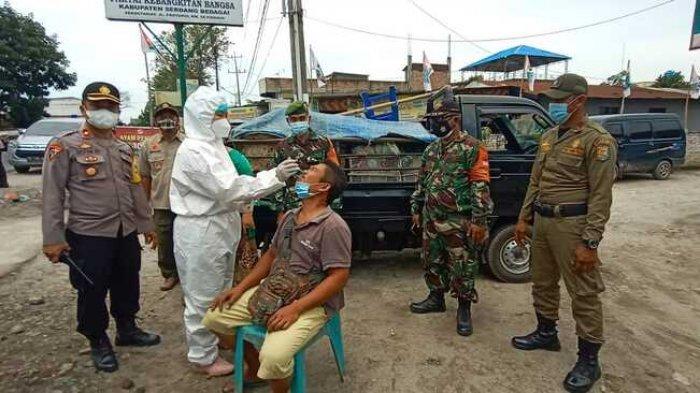 Update Covid-19 di Sergai, Kecamatan Dolok Merawan dan Silinda Zona Hijau