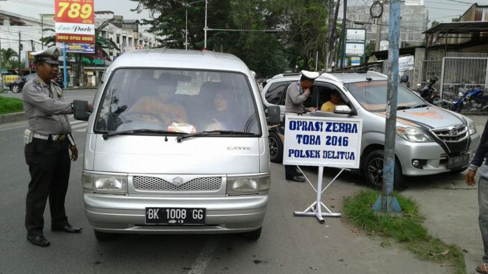 216 Pelanggaran Terjadi di Hari Pertama Operasi Zebra Toba