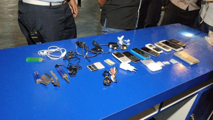 Napi Lapas Tanjungbalai Sembunyikan 32 Gram Sabu dan Ekstasi di Bak Mandi