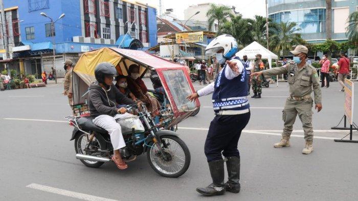 Bina Masyarakat Agar Taat Protokol Kesehatan, Pemkot Medan Gelar Operasi Yustisi