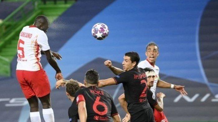 """Wakil Spanyol Atletico Madrid Tersingkir dari Liga Champions, Simeone """"Terkutuk"""""""