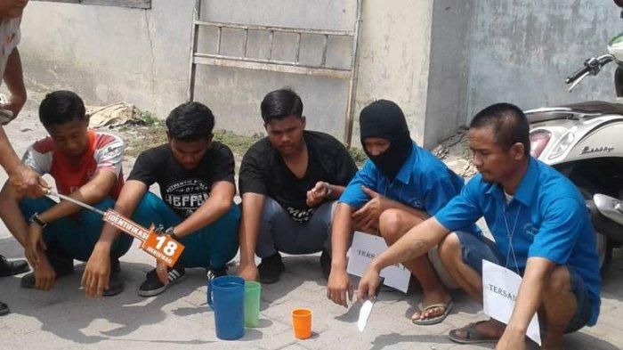 Pelajar SMK di Medan Labuhan Tewas Ditikam Setelah Bilang 'Mata Kau Itu'
