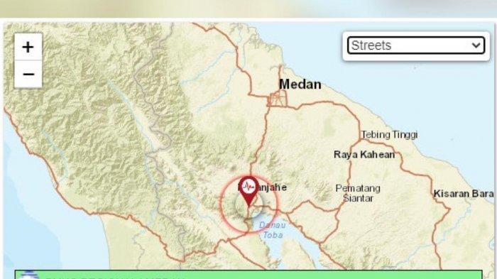 Karo Diguncang Gempa Dengan Kekuatan 2.6 SR, Pusat Gempa di Kedalaman 1 KM