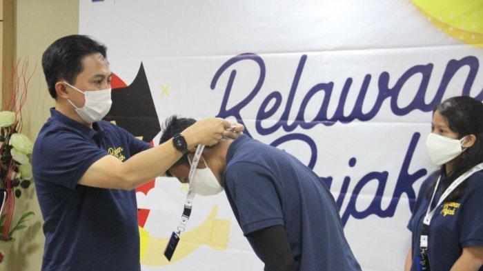 186 Mahasiswa dan Umum Dikukuhkan Kakanwil DJP Sumut I Jadi Relawan Pajak