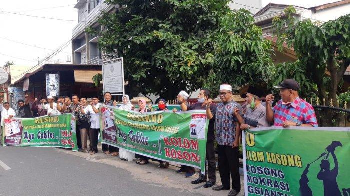 Muncul Lagi Komunitas Pendukung Kolom Kosong Pilkada Siantar, Resikko Klaim Relawan Sudah 500 Orang