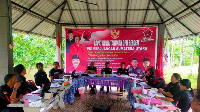 Rapat Kerja Tahunan DPD Repdem Sumut Hasilkan Program Kerja di 12 Bidang