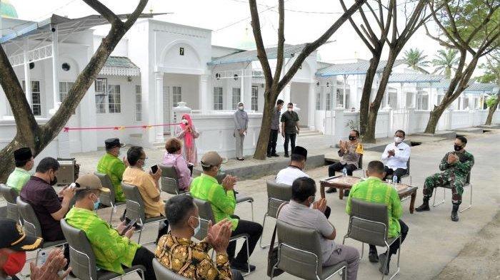 Replika Istana Sultan Serdang 'Disulap' Jadi Tempat Isolasi Terpadu di Sergai