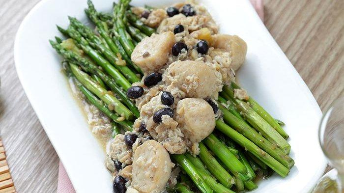 Resep Asparagus Siram Taosi dan Cara Membuatnya, Kreasi Menu Sayuran Mudah dan Sehat