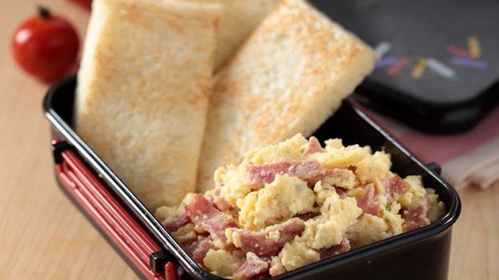 Resep Cheese And Beef Scrambled Egg dan Cara Membuatnya, Menu Sarapan Mewah Ala Rumahan
