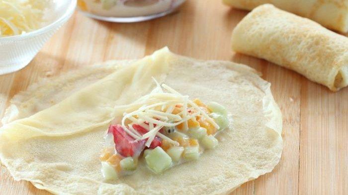 Resep Crepe Salad Buah dan Cara Membuatnya, Menu Menarik Disajikan untuk Diet Malam ini