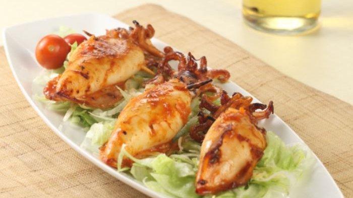 Resep Cumi Bakar Asam Manis dan Cara Membuatnya, Hidangan yang Bikin Nafsu Makan Langsung Bergejolak