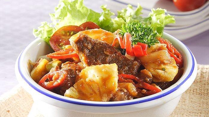 Resep Daging Masak Nanas dan Cara Membuatnya, Menu Sederhana Dengan Rasa Unik yang Memuaskan