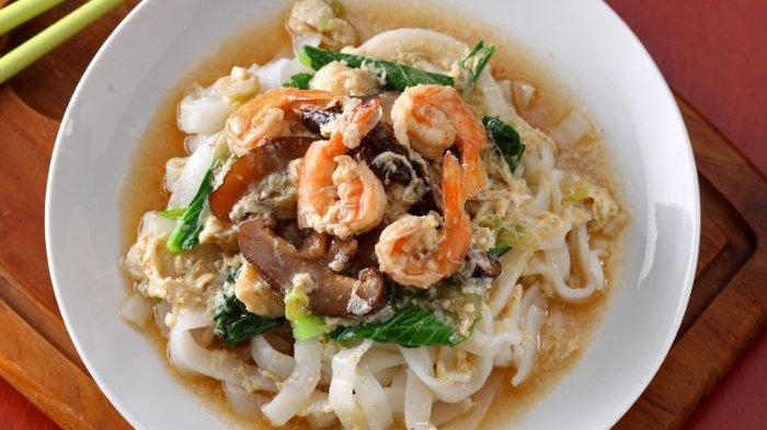 Resep Kwetiau Siram Udang dan Cara Membuatnya, Ala Restoran yang Dapat Dibuat di Rumah