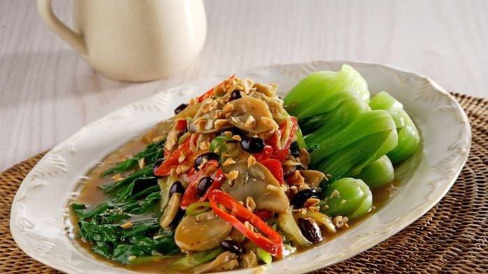 Resep Pokcoy Taosi Wijen dan Cara Membuatnya, Menu Sayuran Praktis Dengan Tumisan Bumbu yang Nikmat