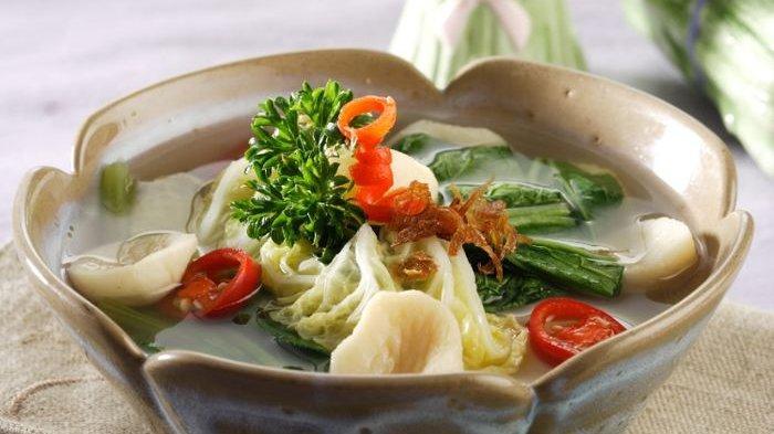 Resep Sayur Sawi Putih & Hijau serta Cara Membuatnya, Sayur Berkuah Bening yang Segar
