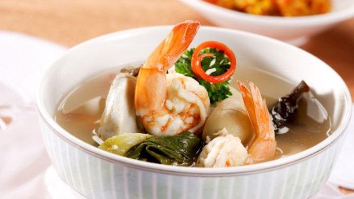 Resep Sup Udang Tiga Jamur dan Cara Membuatnya, Menu Olahan Seafood dengan Kuah yang Super Sedap