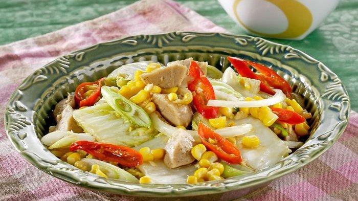 Resep Tumis Sawi Putih Jagung dan Cara Membuatnya, Menu Rumahan Praktis untuk Santapan Makan Malam