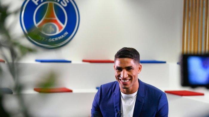 RESMI! Klub Sultan Asal Prancis Perkenalkan Rekrutan Barunya, Hakimi Dikontrak PSG Rp 1,21 Triliun