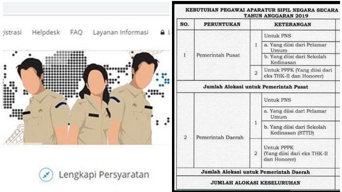 Resmi Pendaftaran Cpns Info Cpns 2019 Berlangsung Di 108 Lokasi Info Terbaru Bkn Tata Cara Daftar Tribun Medan