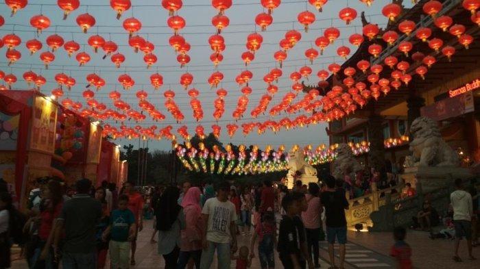 Ini Makna Hadirkan Ribuan Lampion Rayakan Imlek di Maha Vihara Maitreya