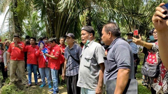 Eksekusi Lahan di Desa Sei Lomlom Asahan Berlangsung Ricuh, Warga vs Ketua PN Terlibat Debat Kusir