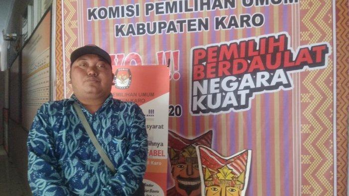Rikardo Sitepu, Korban Erupsi Gunung Sinabung Yang Sukses Jadi Komisioner KPUD Karo