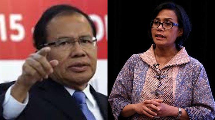 Rizal Ramli Menantang Menkeu Sri Mulyani Debat soal Utang Indonesia