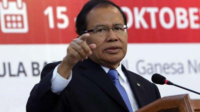 Menohok Respons Rizal Ramli saat Diajak Melawan dan Menyudahi Rezim Jokowi