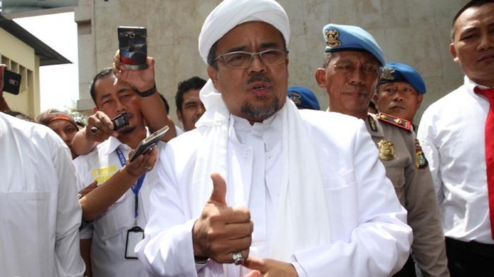Dukung Jokowi-Ma'ruf atau Prabowo-Sandiaga, Begini Sikap Rizieq Shihab