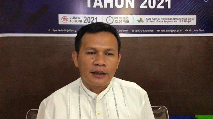 KPU Binjai Umumkan 4 Kelurahan Terendah Tingkat Partisipasi Politik