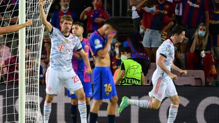 Pelatih Bayern Munchen Sebut Messi Punya Andil Atas Kekalahan Telak Barcelona 3-0