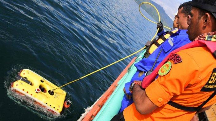 Robot ROV yang Sukses Visualkan Bangkai KM Sinar Bangun di Danau Toba Ikut Cari Lion JT-610