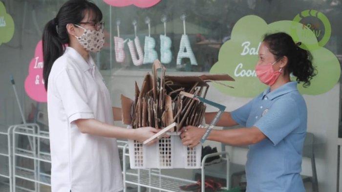 Minimalisir Sampah Kota, Roda Hijau Jemput Sampah dan Ajak Warga Medan Pilah Sampah Sejak Dini