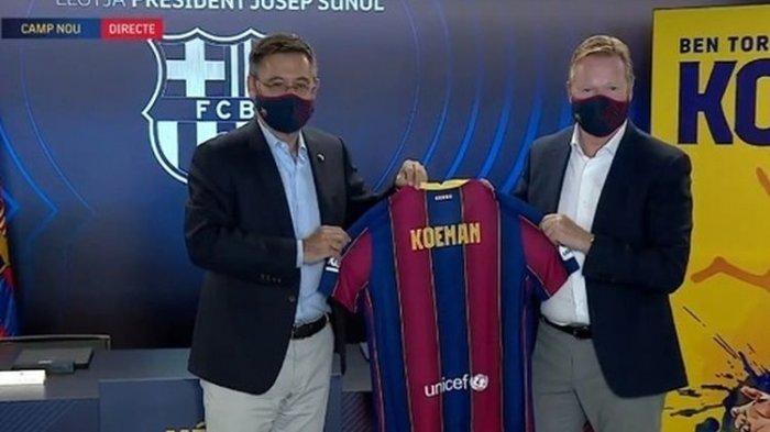 Barcelona Terpuruk Lagi di Liga Champion, Nasib Koeman Terancam, Ini Penggantinya