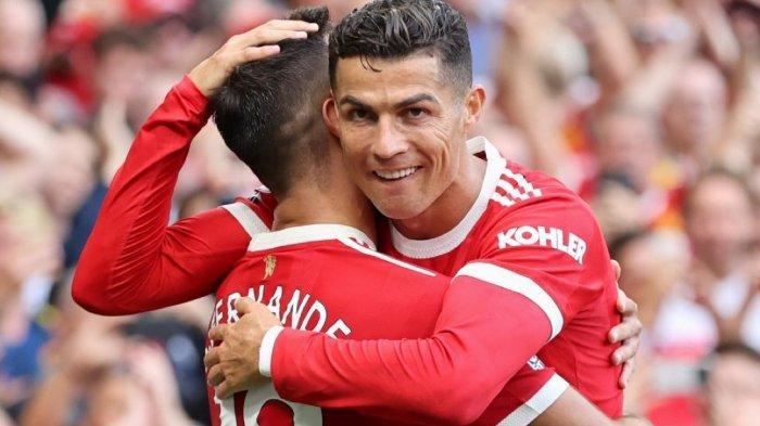 JADWAL Liga Inggris - Cristiano Ronaldo Cetak 3 Gol dalam 180 Menit, Selevel 2 Rekrutan Man United