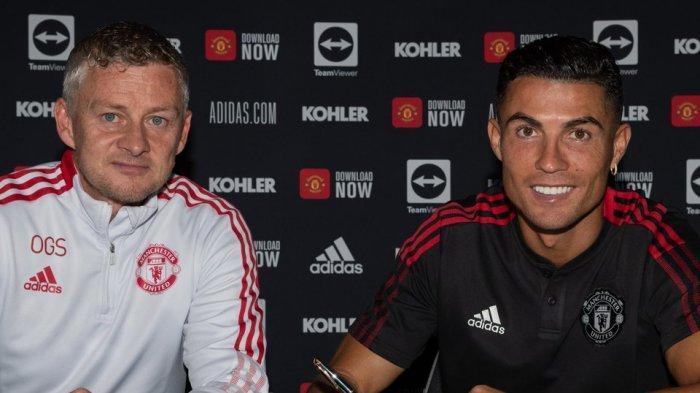 CRISTIANO Ronaldo Siap Debut Laga Man United Vs Newcastle, Bakal Beri Tekanan untuk Solskjaer