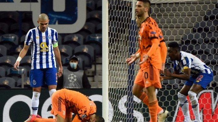 Hasil Porto Vs Juventus - Ronaldo tak Berkutik Di Sarang Naga, Malah Tabrak Rekan Sendiri