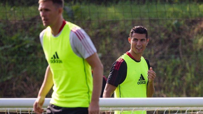 Cristiano Ronaldo sudah mengikuti latihan bersama Manchester United