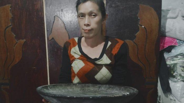 Capah, Piring Tradisional Suku Karo Berukuran Jumbo, Terbuat dari Kayu Nangka