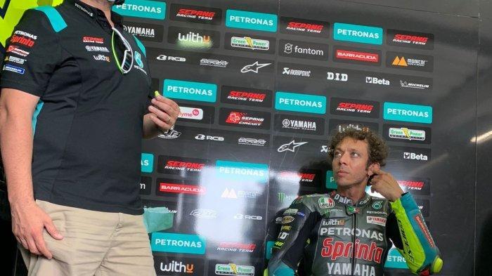 JADWAL MotoGP Belanda 2021 Pekan Ini, Sudah Selesai Marahnya, Rossi Optimistis di Sirkuit Assen