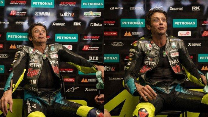 Pembalap Petronas Yamaha SRT, Valentino Rossi, meraih hasil terbaiknya musim ini pada MotoGP Austria 2021.