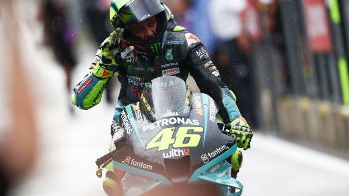 VALENTINO Rossi Belum Siap Jadi Pensiunan MotoGP, Paranoid Mikir Balapan GP Valencia
