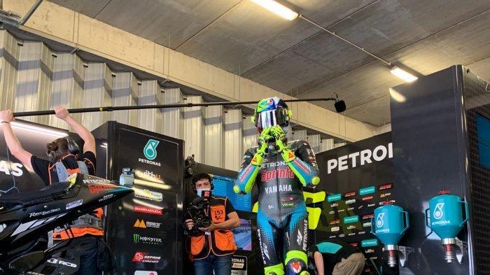 UPDATE JAM Tayang Siaran MotoGP Portugal Hari Ini, Valentino Rossi Start P17,Salahkan Akselerasi
