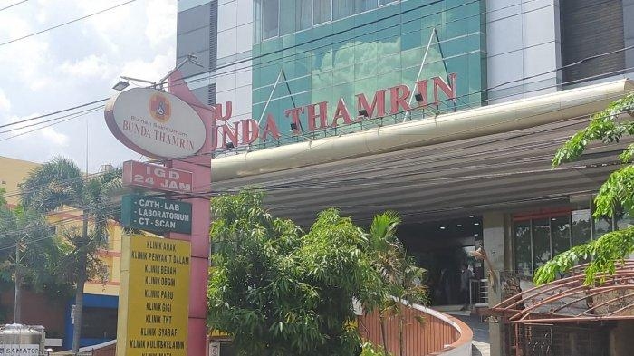 Kamar Pasien Covid-19 di RSU Bunda Thamrin Medan Penuh