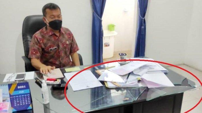 Disebut Mengamuk dan Pukulkan Kayu ke Meja Pejabat Sekwan, Ucok Purba: Saya Enggak Ada Pukul Orang